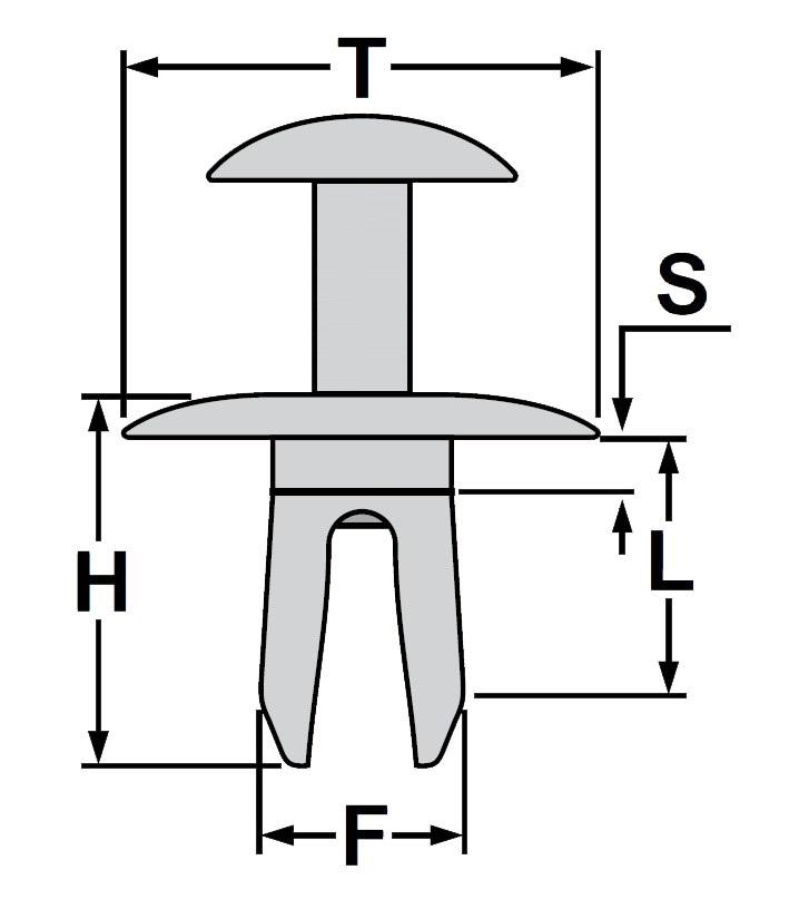 10x radkasten befestigung clips mercedes mitsubishi mini